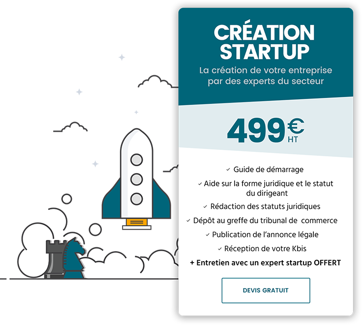 Pack Création startup